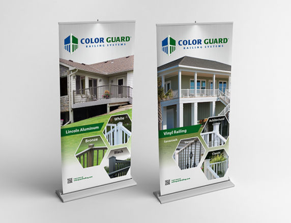 Retractable Banner Stands <b> Color Guard</b>