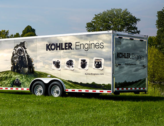 Full Wrap Graphics <b> Kohler Engines</b>