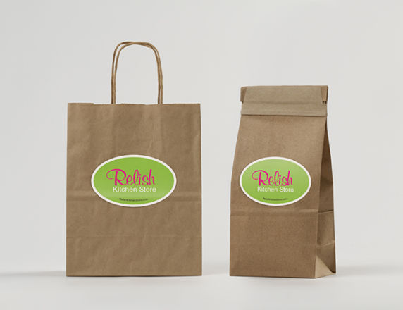 Bag/Product Labels <b>Relish Kitchen Store </b>