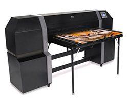 HP35500 UV Flatbed Printer 2013