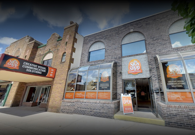 The Sign Shop of Sheboygan - Michigan Building Store Front