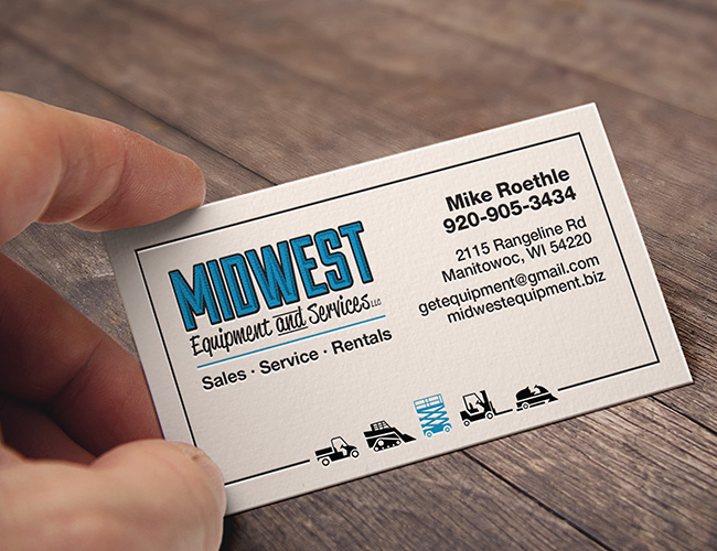 Our portfolio the sign shop of sheboygan business card midwest equipment service colourmoves